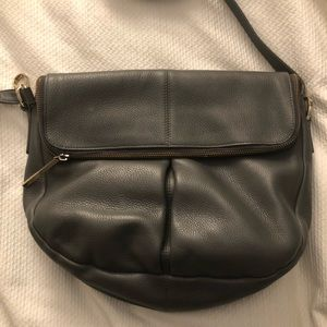 005bdaf408 Whistles Bags - Whistles Grey Pebbled Duffy Zip Satchel